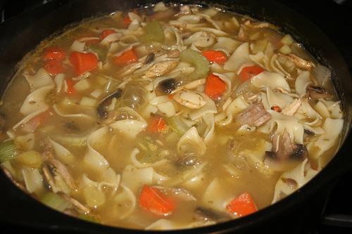 Thick Hearty Turkey Vegetable Soup « FoodaSaurusRex